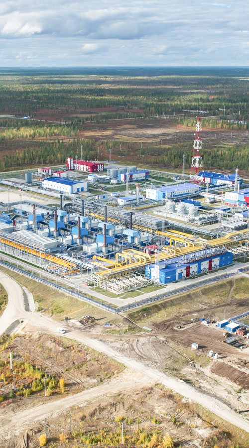 Wintershall Dea production site Russia