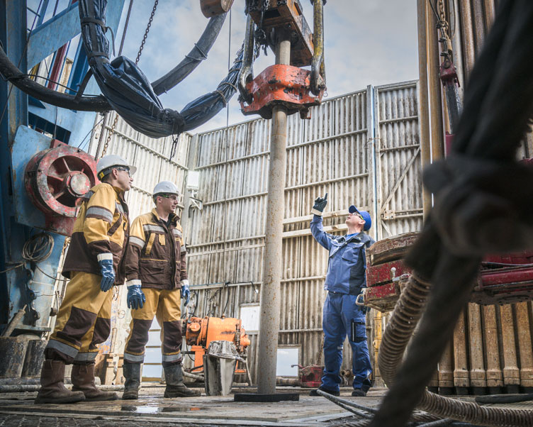 Wintershall Dea Employees Volgodeminoil
