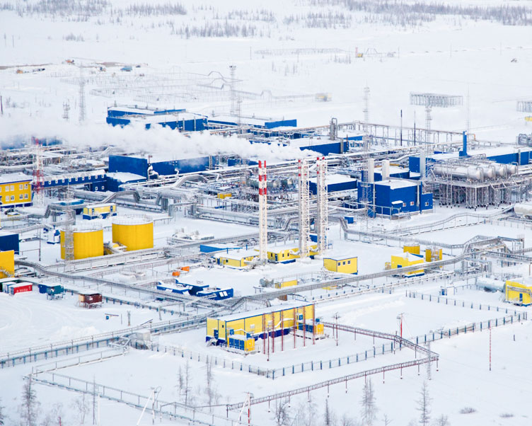 Wintershall Dea Production site Achimgaz